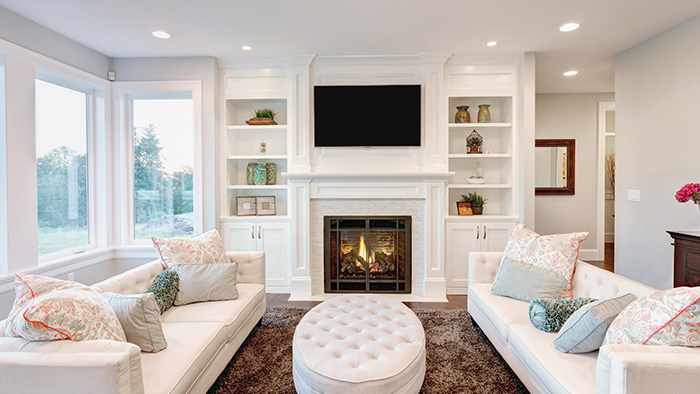 Interior Including Fire Place